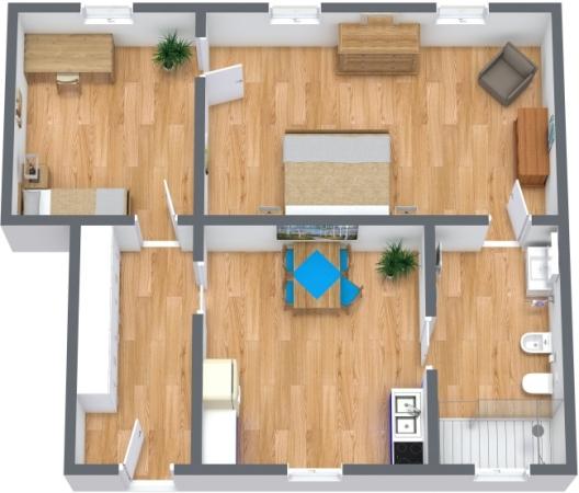 Planimetria Appartamento N.360