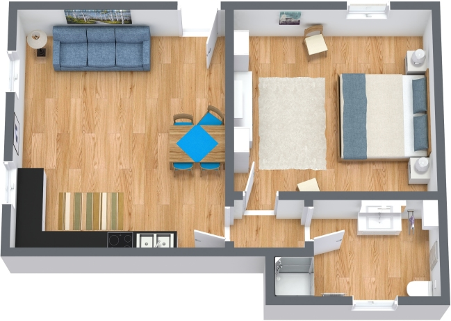 Planimetria Appartamento N.371