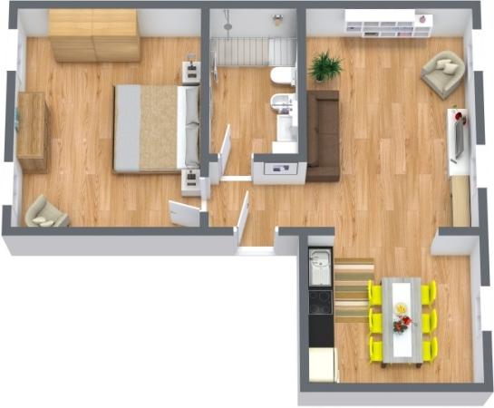 Planimetria Appartamento N.397
