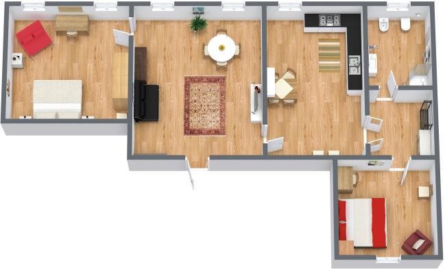 Planimetria Appartamento N.41