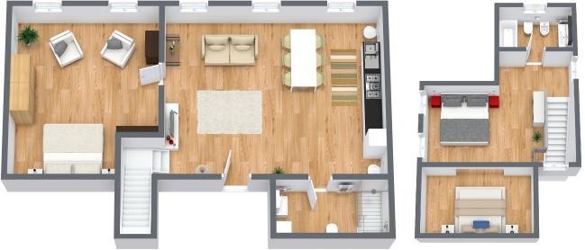 Planimetria Appartamento N.49