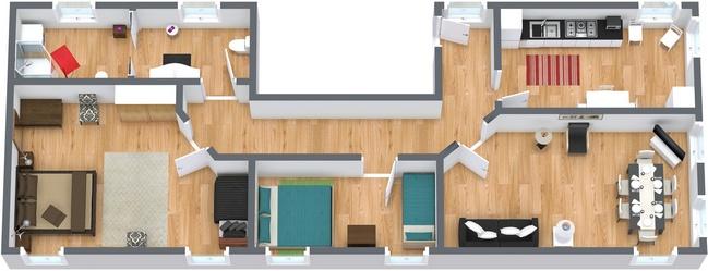 Planimetria Appartamento N.59