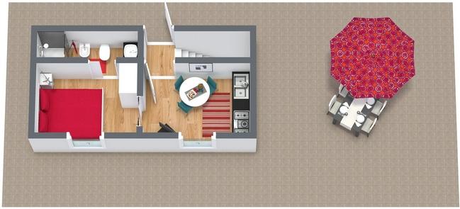 Planimetria Appartamento N.89