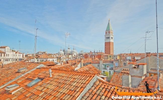 Attico con terrazza a venezia san marco appartamenti a for Terrazza panoramica venezia