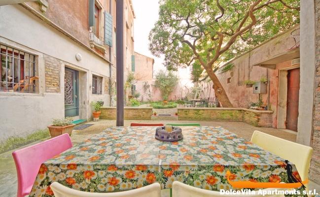 Appartamento in affitto a venezia con giardino per 4 - Affitto casa con giardino ...