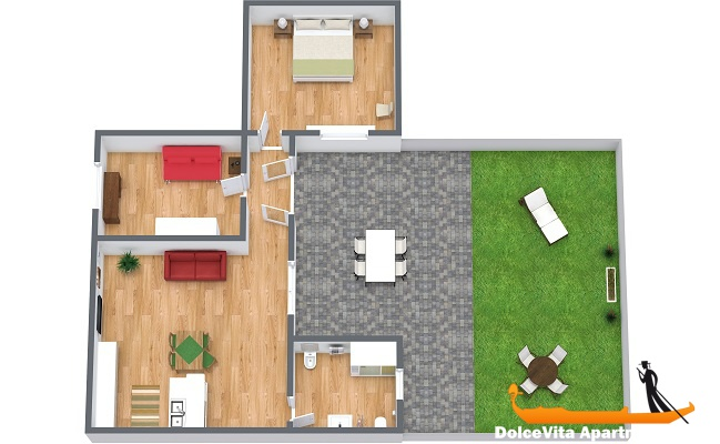 Appartamento in affitto a venezia con giardino per 4 appartamenti a - Affitto casa con giardino ...