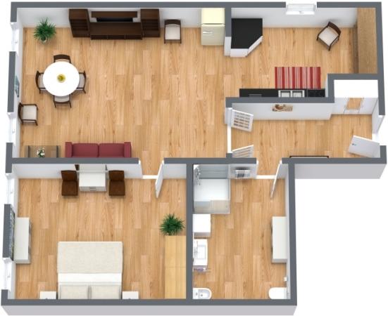 Appartamento nello storico ghetto di venezia for Planimetria appartamento