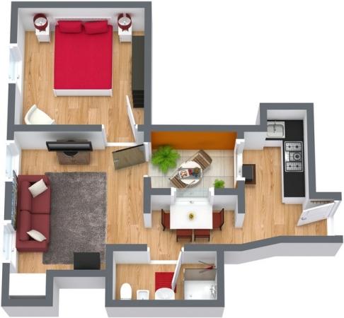 Planimetria Appartamento N.103