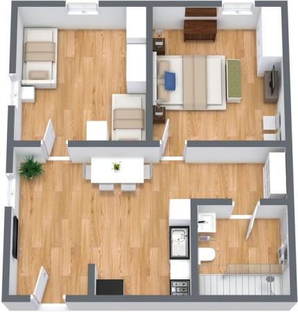 Planimetria Appartamento N.108