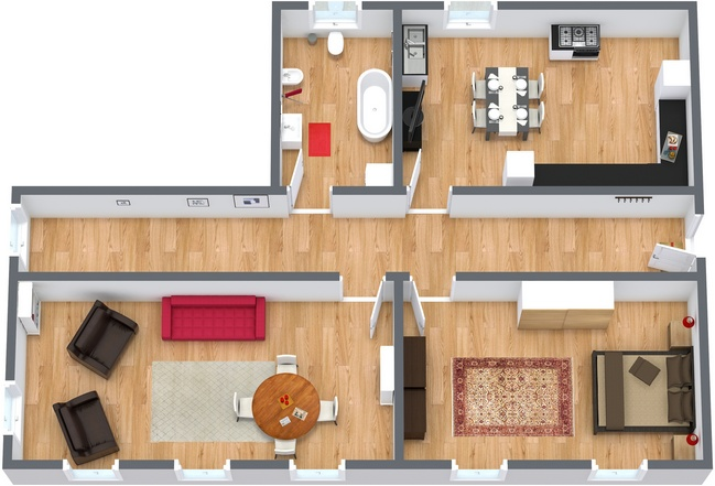 Planimetria Appartamento N.109