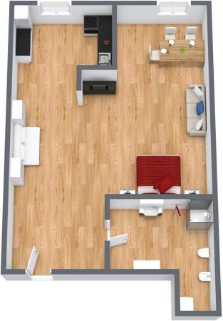 Planimetria Appartamento N.111