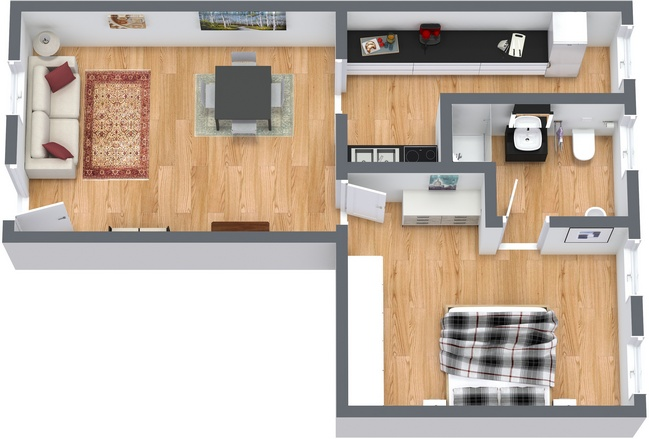 Planimetria Appartamento N.116