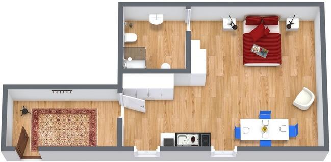 Planimetria Appartamento N.125