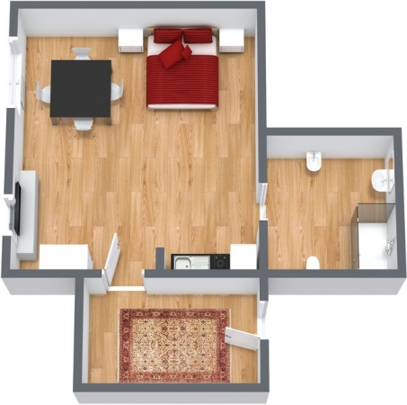 Planimetria Appartamento N.118