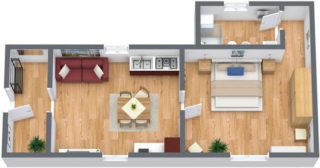 Planimetria Appartamento N.120