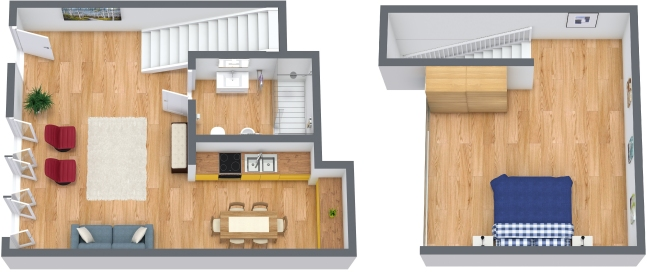 Planimetria Appartamento N.122