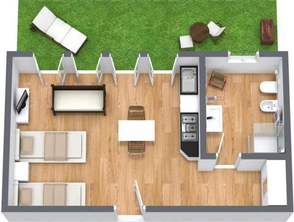 Planimetria Appartamento N.13