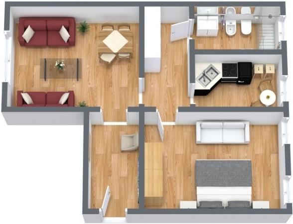 Planimetria Appartamento N.131