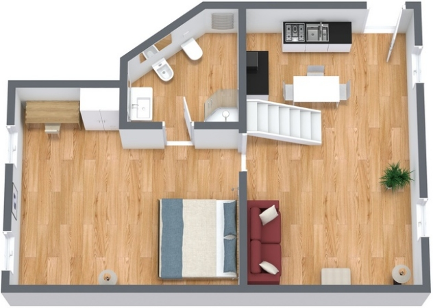 Planimetria Appartamento N.133