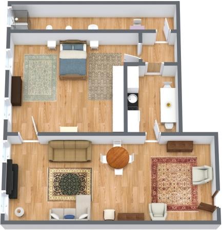 Planimetria Appartamento N.135