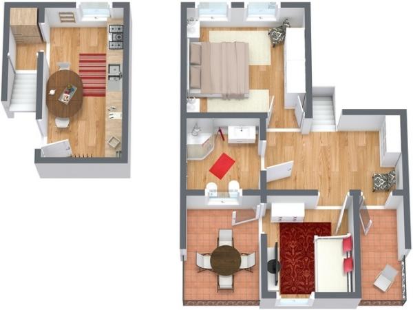 Planimetria Appartamento N.138