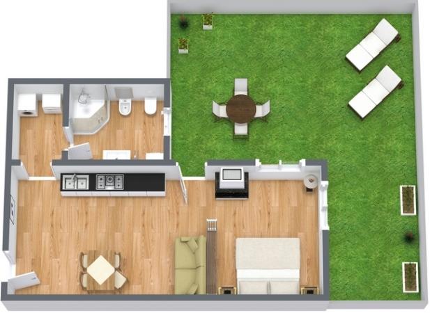 Planimetria Appartamento N.14