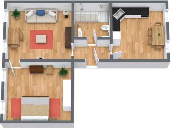 Planimetria Appartamento N.140