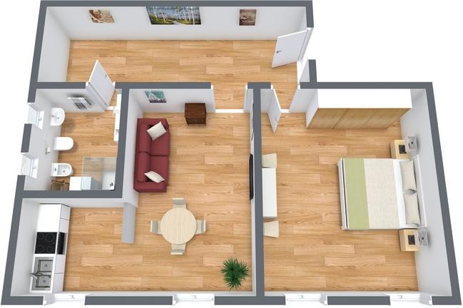 Planimetria Appartamento N.144