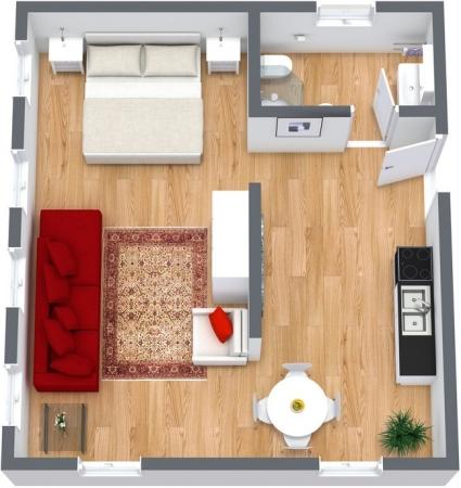 Planimetria Appartamento N.145
