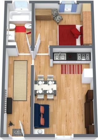 Planimetria Appartamento N.154