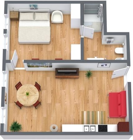Planimetria Appartamento N.156