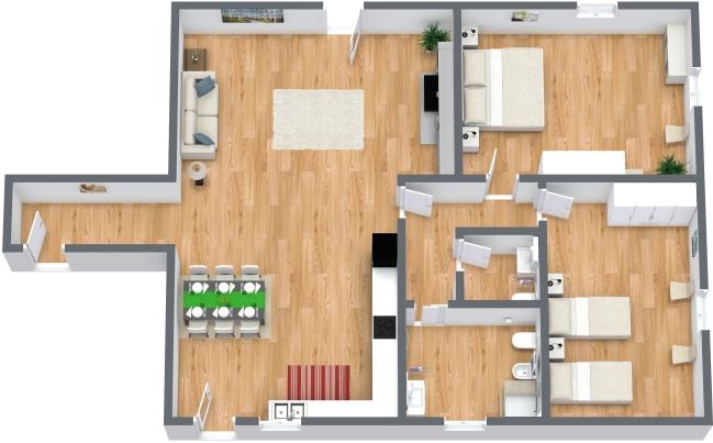 Planimetria Appartamento N.157