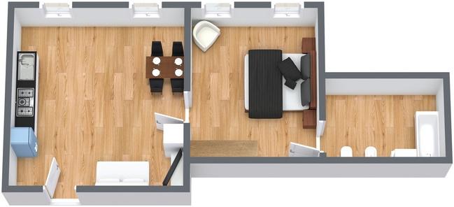 Planimetria Appartamento N.163