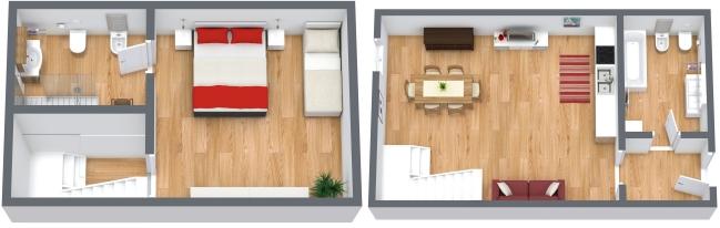 Planimetria Appartamento N.166