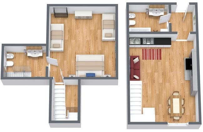 Planimetria Appartamento N.167