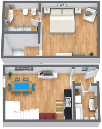 Planimetria Appartamento N.169