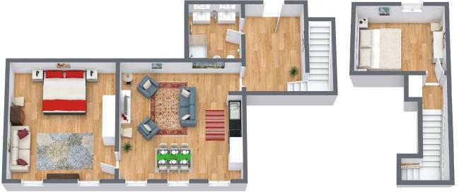 Planimetria Appartamento N.170