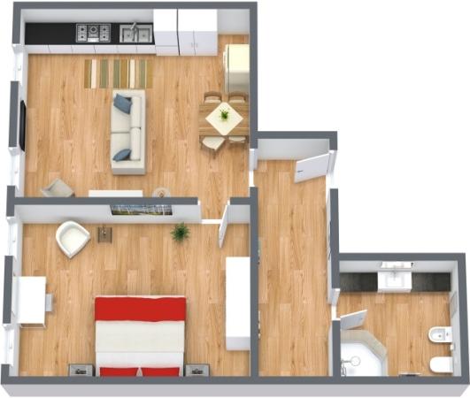 Planimetria Appartamento N.171