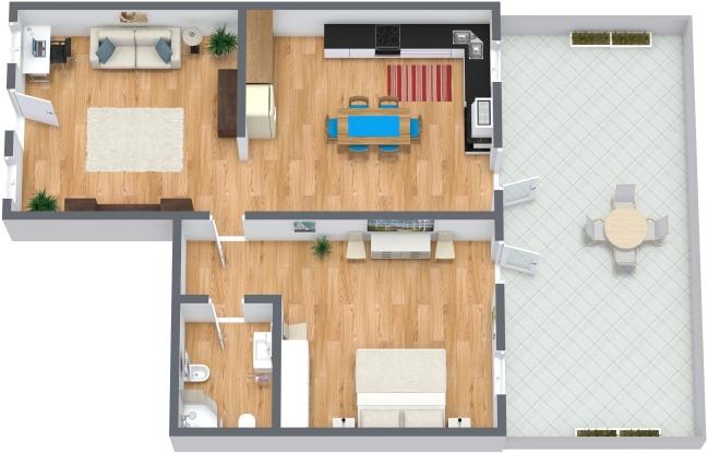 Planimetria Appartamento N.178