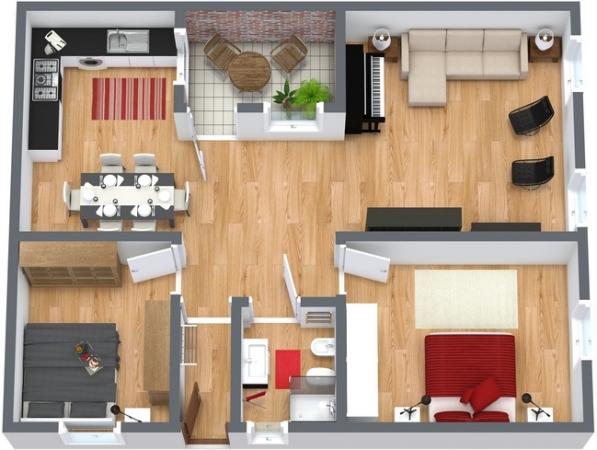 Planimetria Appartamento N.181