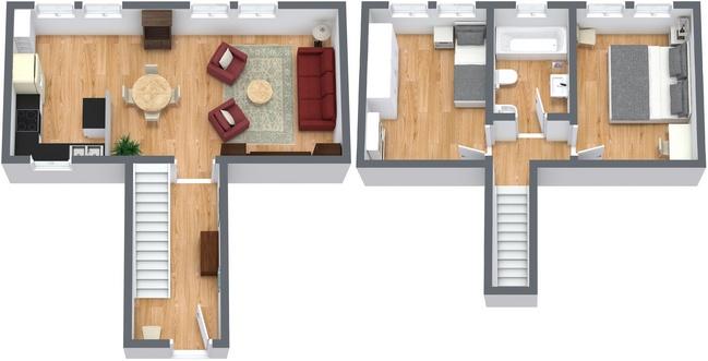 Planimetria Appartamento N.186