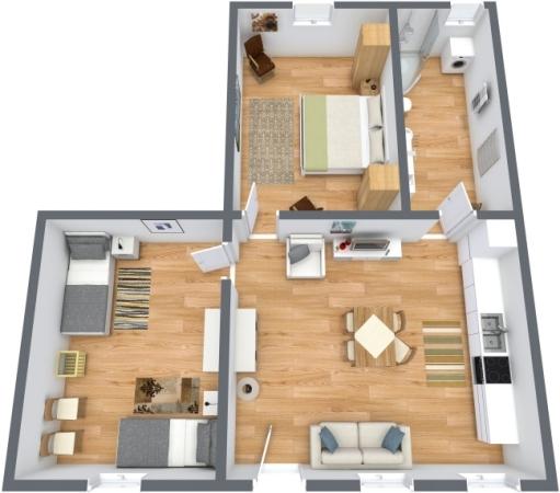 Planimetria Appartamento N.189