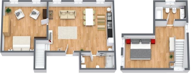 Planimetria Appartamento N.191