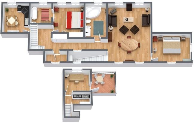 Planimetria Appartamento N.192
