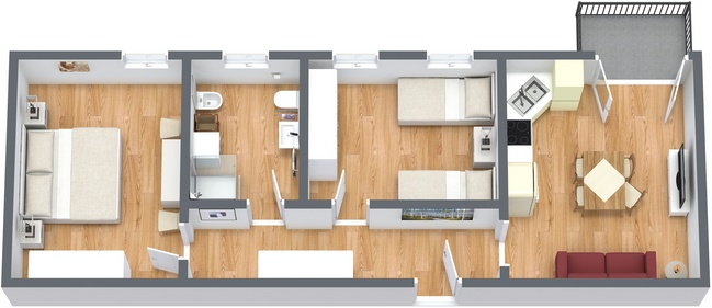 Planimetria Appartamento N.194