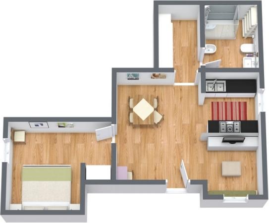 Planimetria Appartamento N.195