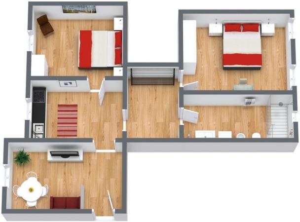 Planimetria Appartamento N.196