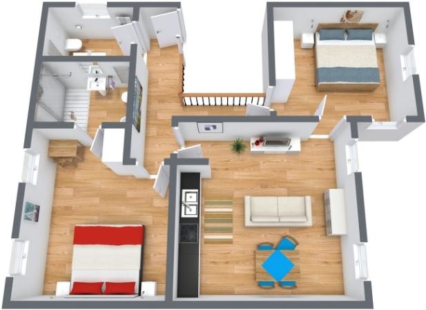 Planimetria Appartamento N.197