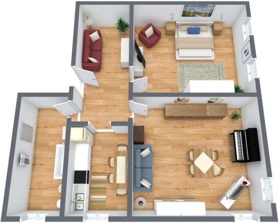 Planimetria Appartamento N.199