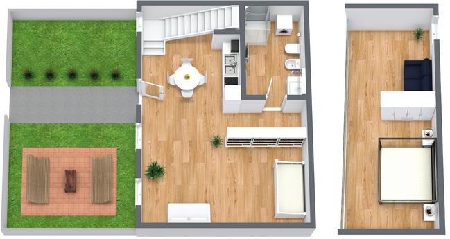 Planimetria Appartamento N.2